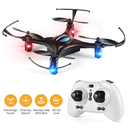 Remote Control Toys Toys For Children 532 Altitude Hold Mini Neon Drone Headless Mode 3d Flip Led Light Rc Quadcopter Toy Kids Gift Rc Drone Rc Helicopters