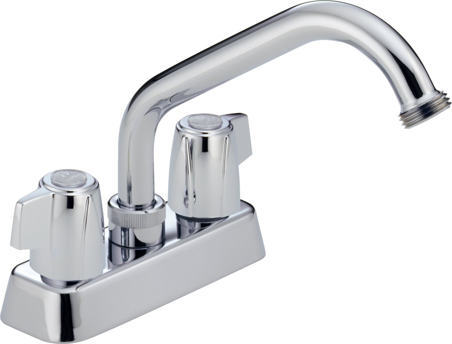 Peerless P299232 Classic Two Handle Laundry Faucet, Chrome - Touch ...