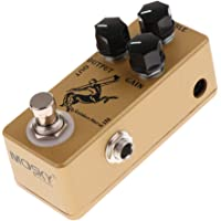 F Fityle Electric Guitar Bass Effect Pedal Stage Performance Accessories Yellow