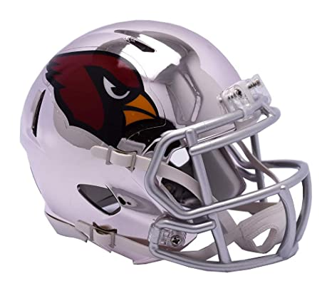 Image Unavailable. Image not available for. Color  Arizona Cardinals -  Chrome Alternate Speed Riddell Mini Football Helmet ... aeb486608
