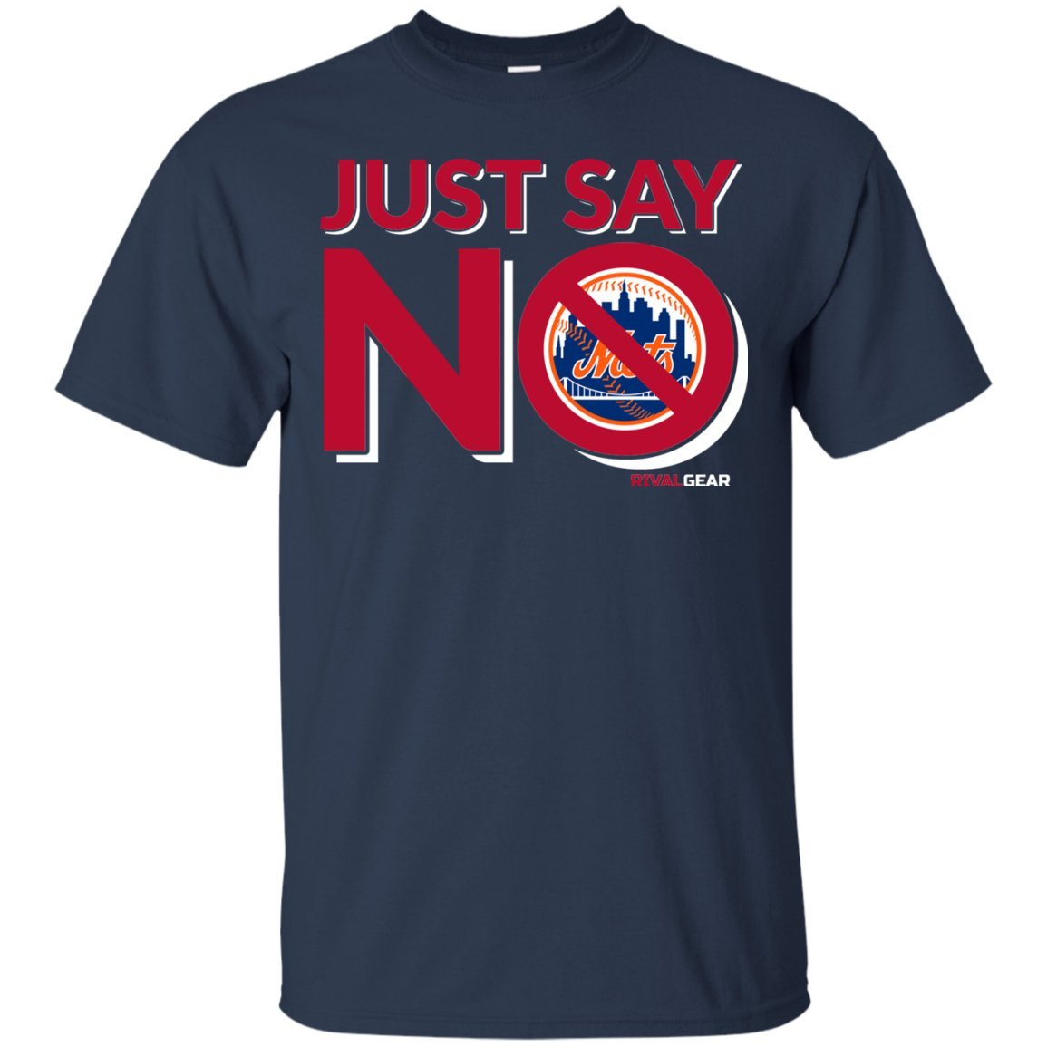 Just Say No Rival Gear Atlanta Baseball T-Shirt