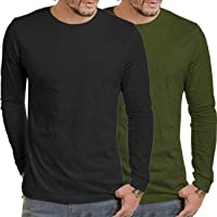 Coofandy Mens Summer Slim Fit Contrast Color Stitching Crew Neck Short Sleeve Casual T-Shirts