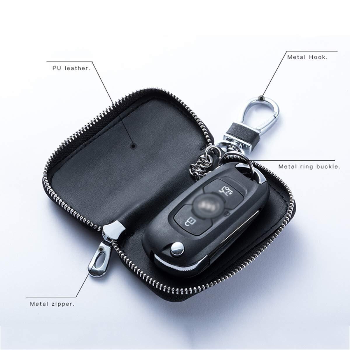 Color : Brown Cell Phone Protection RFID//WiFi//NFC Blocker Car Key Signal Blocker Case,Keyless Car Key Signal Blocker Pouch