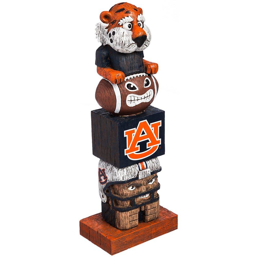 Evergreen College Official Tiki Totem Fan Favorite Team Pride- Auburn Tigers