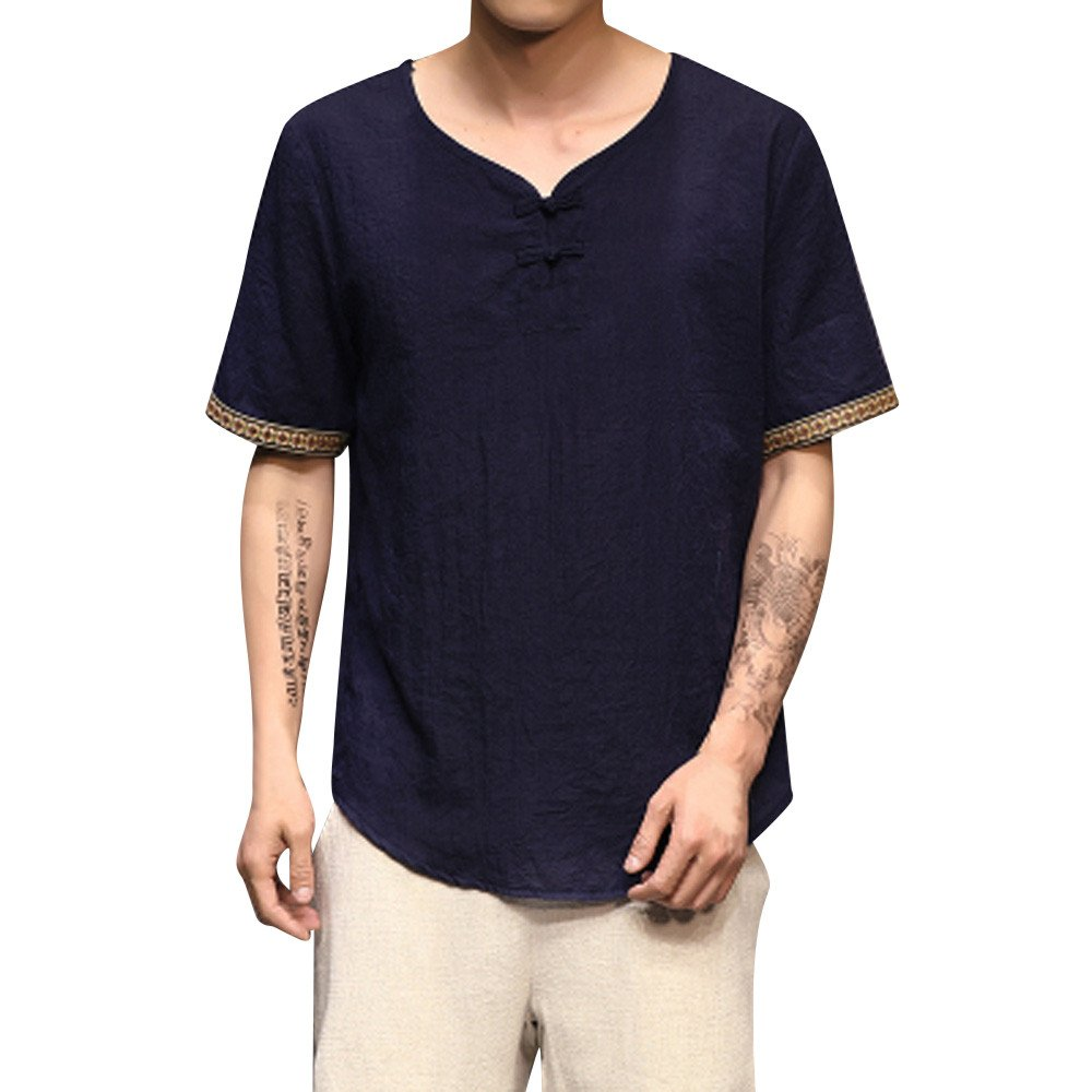 JERFER - Camiseta - Cuello en V - para hombre