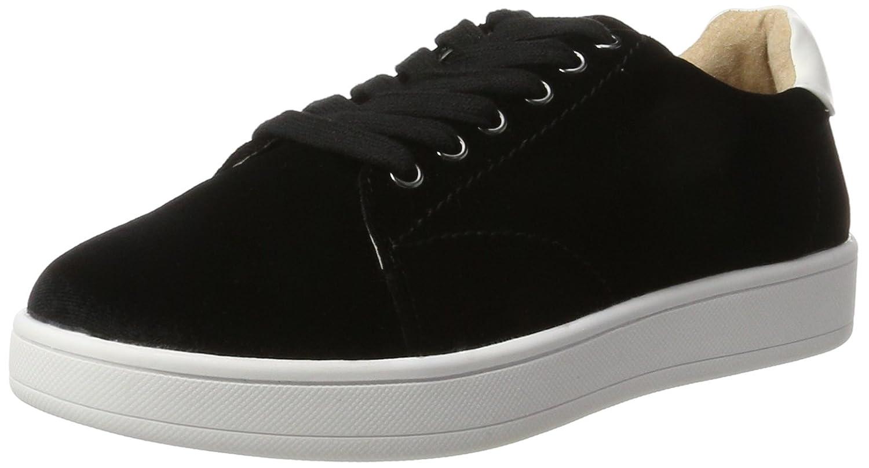 Buffalo Shoes 16t44-4 Velvet, Zapatillas para Mujer 37 EU|Negro (Black 01)
