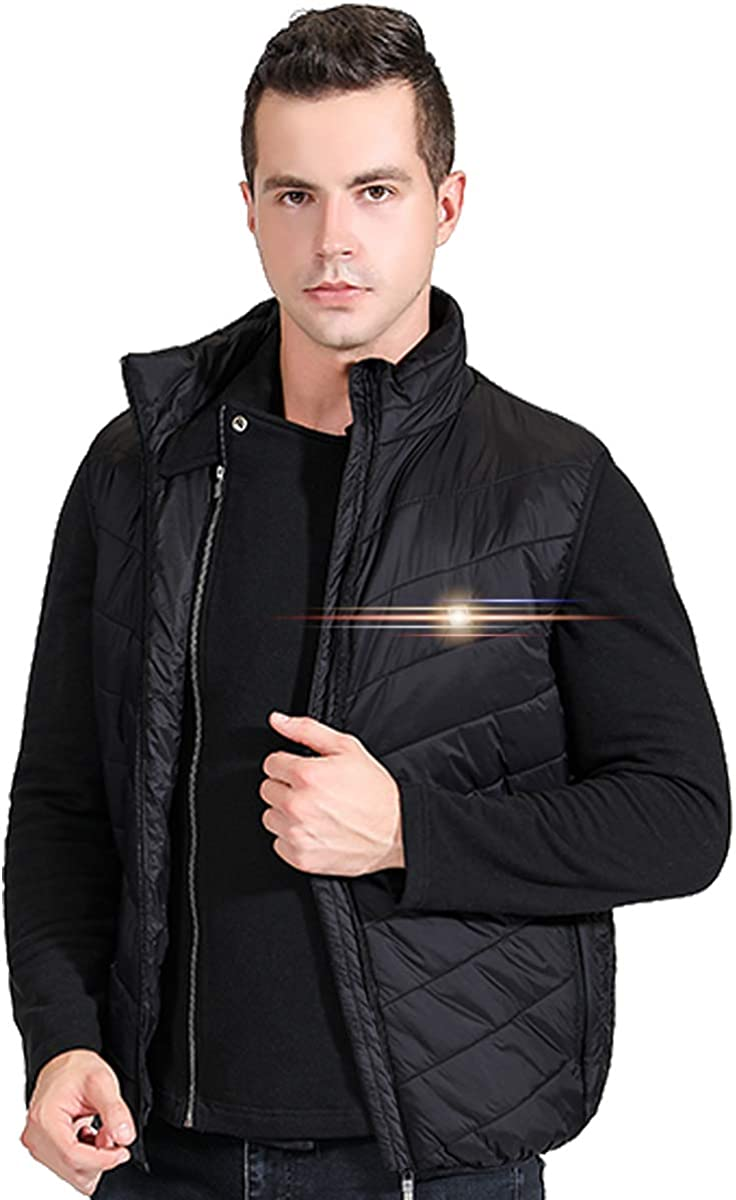 UTUZHE Heated Vest for Men by Power Bank Fishing Hunting Clothes for Men Outdoors