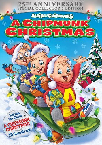 Amazon.com: Alvin and the Chipmunks - A Chipmunk Christmas (25th ...