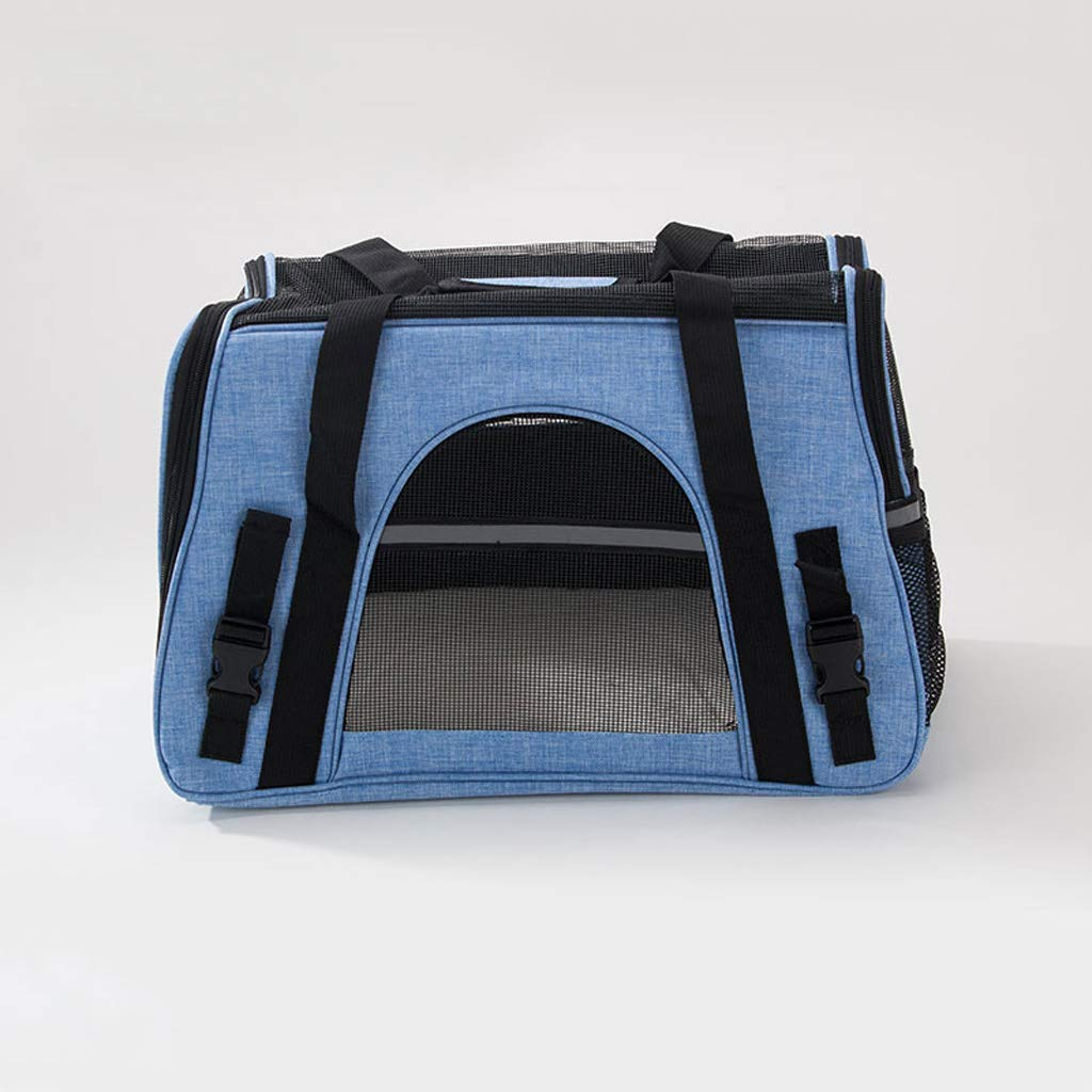 72b5ac4411 MXD Cat Bag Dog Bag Pet out Borsa Borsa Borsa da Trasporto Cat Shoulder Bag  Cat Backpack Cat Cage Pet Bag Pet Supplies (Dimensione S) ac3d85