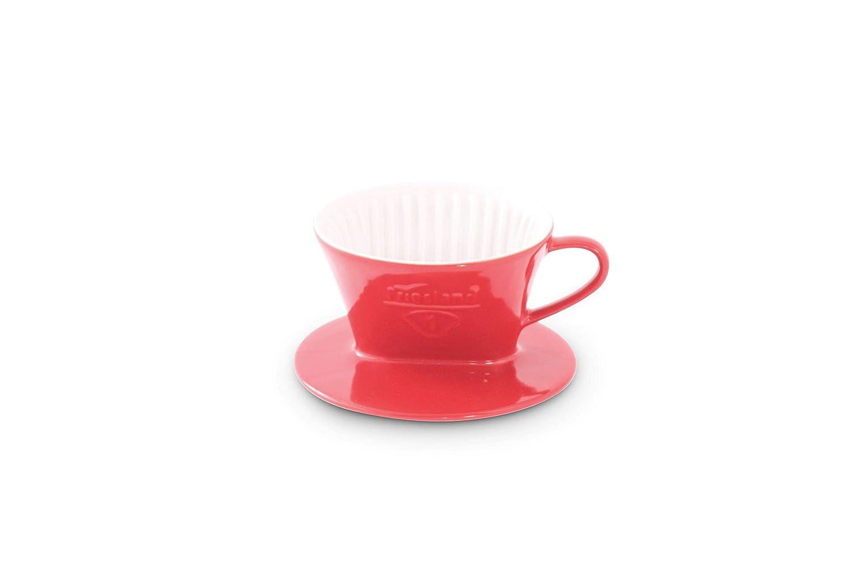 1 Rot Porzellan Friesland Kaffeefilter Gr