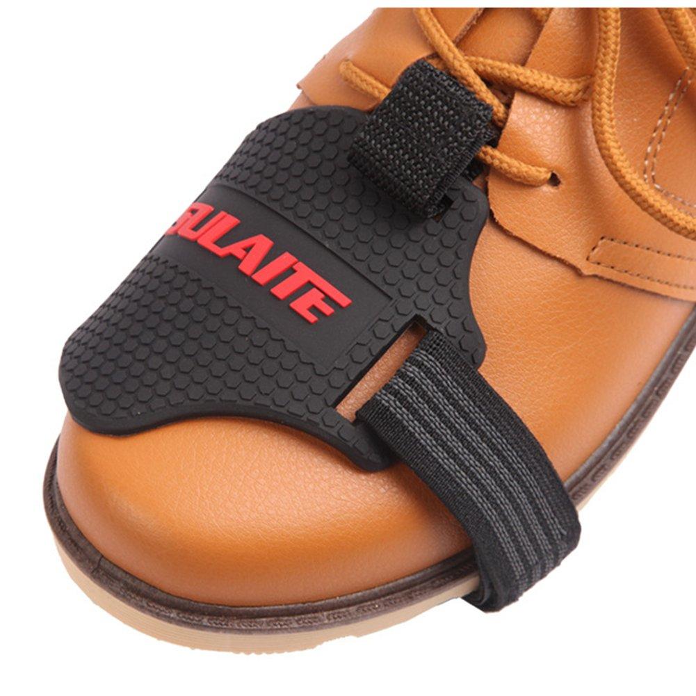 YOUn Protection de D/érailleur Bottes de Chaussures de Moto Shift Chaussettes Boot Cover