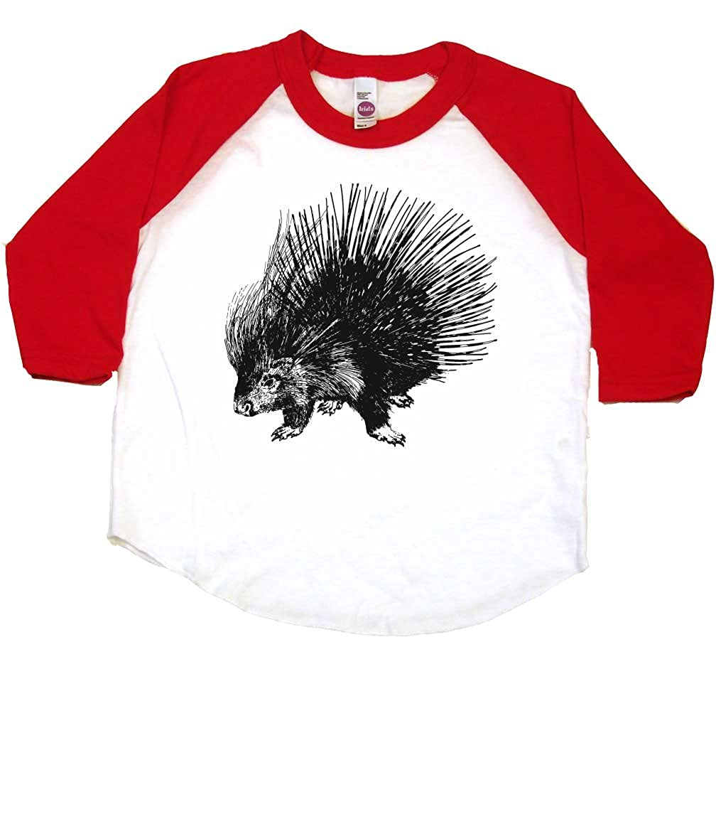 dd34b7dac39d Amazon.com: Prickly Porcupine Animal Toddler Clothes Boy Or Girl T-Shirts    Cute Baby Gift: Clothing