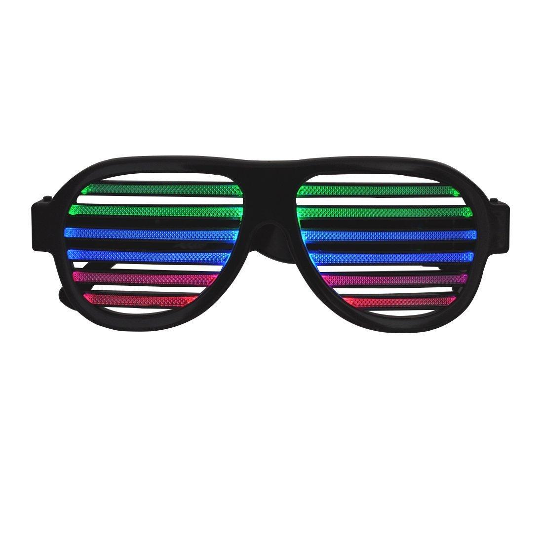 c7110ec5c61 Jeasun Newest LED Glasses