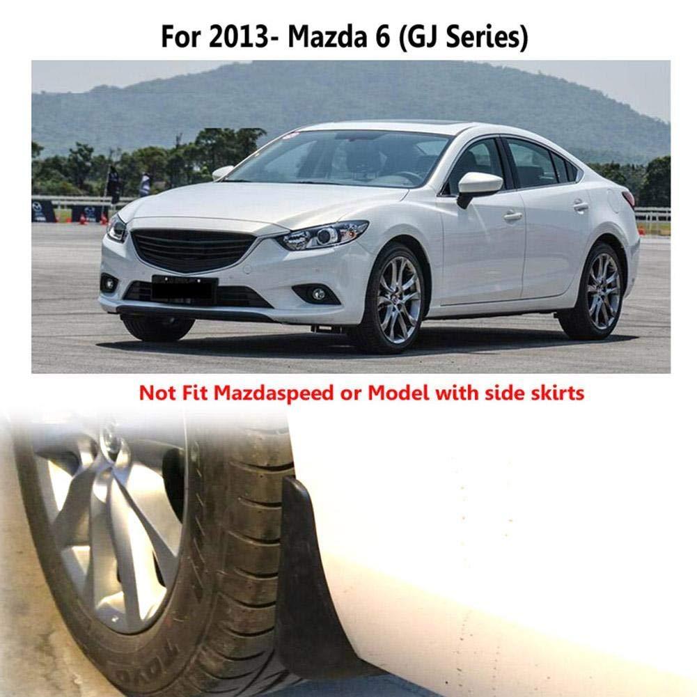 SODIAL Fije Las Aletas De Lodo Moldeadas para El Mazda 6 Sedan 2003-2008 GG Mudflaps Splash Guards Mud Flap Mudguards Fender