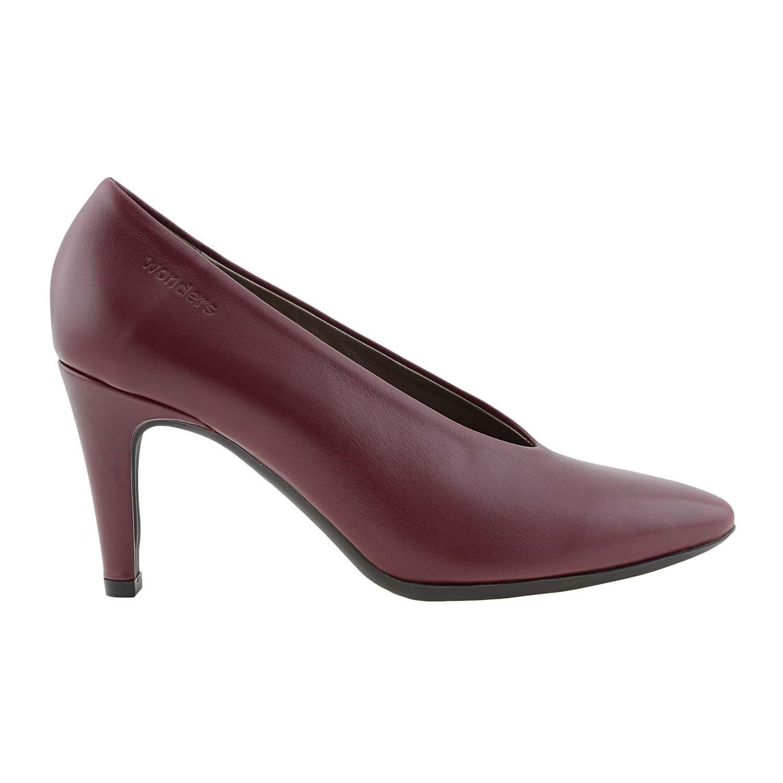f57cb4a42 Zapatos Piel M-2070 Wonders Talla  37 Color  Burdeos  Amazon.es  Zapatos y  complementos