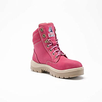 Steel Blue 522860W-090-PNK Southern Cross Ladies Boot, Pink - Women's Size 9, Wide Fit: Industrial & Scientific