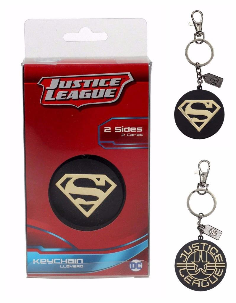 Superman Llavero/Clip de Bolso Justice League - Logotipo ...