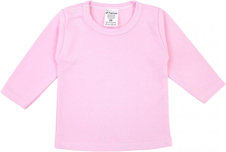 TupTam Camiseta de Beb/é para Ni/ña Manga Larga Pack de 5