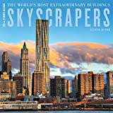 Skyscrapers 2019 12 x 12 Inch Monthly Square Wall Calendar by Hachette, Art Design Architecture Skyscrapers Superstructures (English, Spanish and French Edition)