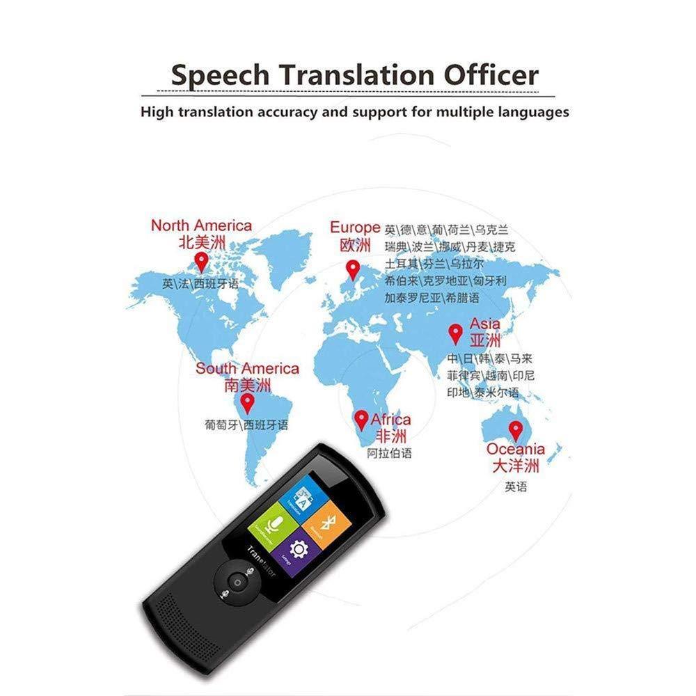 tragbare /Übersetzung f/ür das Erlernen des Einkaufs von Gesch/äftsreisen YJF-FYJ /Übersetzungsger/ät intelligenter Zwei-Wege-Sprach/übersetzer 42-sprachiger simultane und genaue Reaktion