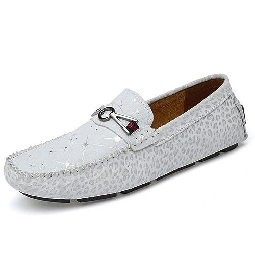 Yaer Zapatos Mocasines de Gamuza de Los Hombres, Mejora Casual Mocassins en Los Zapatos de Conducción: Amazon.es: Zapatos y complementos
