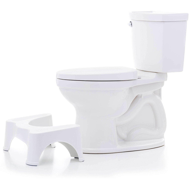 PARASNATH Prime Toilet Squat Stool, 7.5-inch (White)