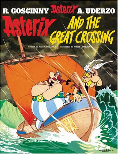 Book cover for Asterix and the Great Crossing