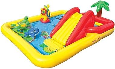 inflatable above ground pool slide. Kids-Inflatable-Pool. Small Kiddie Blow Up Above Ground Swimming Pool Is Great Inflatable Slide