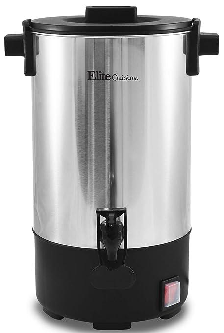 Amazon.com: Elite Cuisine ccm-035 30-cup urna de café de ...