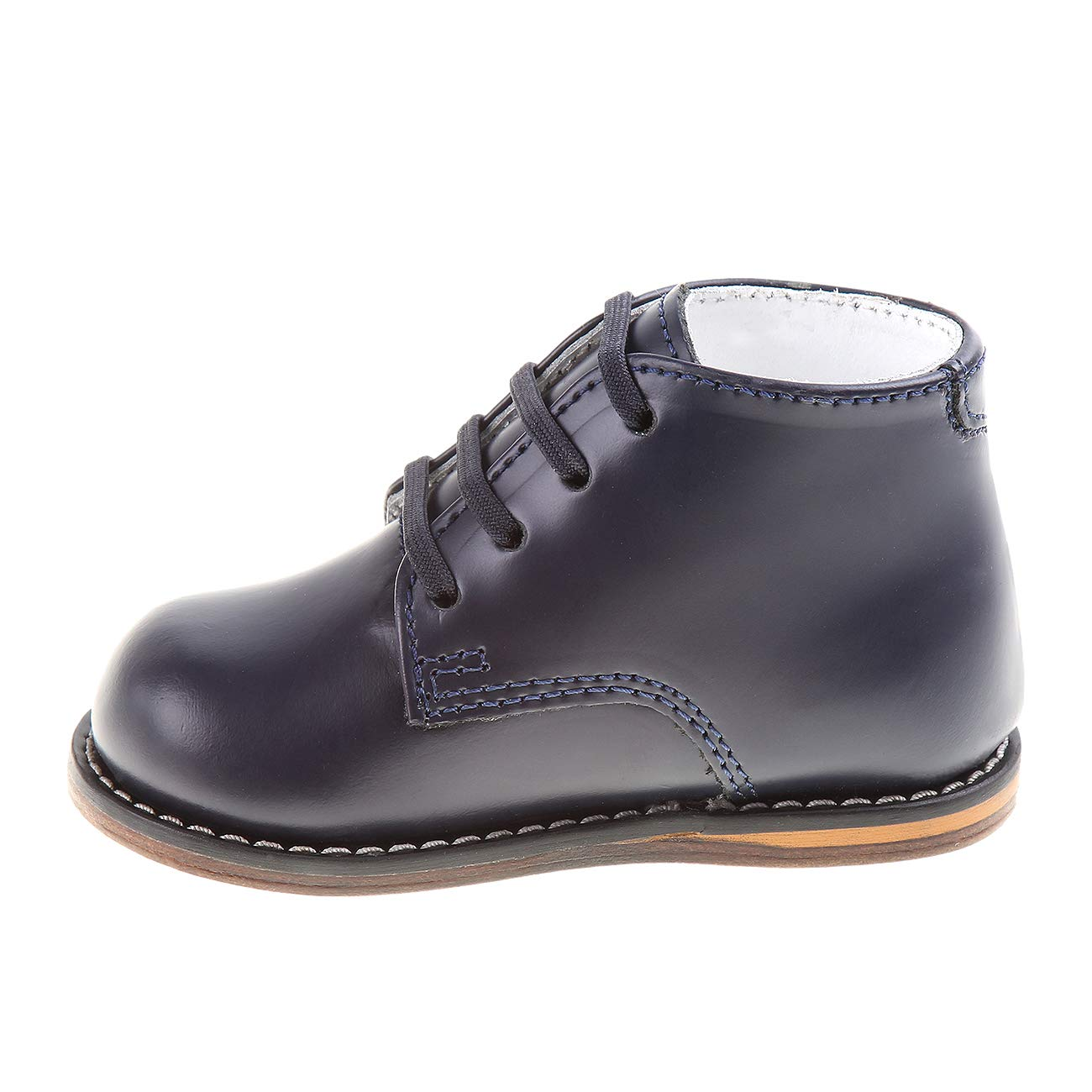Josmo 2-8 Wide Walking Shoes Navy, 2 Wide
