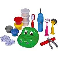 Simba 106324426 Art and Fun kneedset krokodil tandarts, meerkleurig