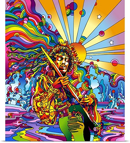 Howie Green Poster Print entitled Jimi Colo
