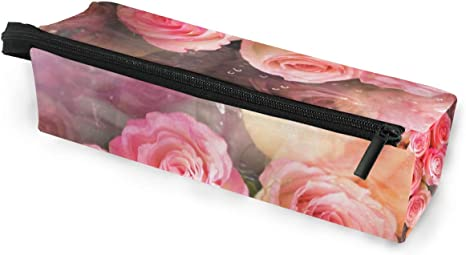 Estuche para bolsa de lápiz Gafas de sol Rosas hermosas Flor ...