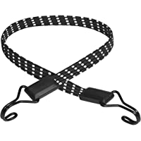 Master Lock Platte snelbinder met haken [80 cm Snelbinder] [Reflecterende snelbinder][Dubbele omgekeerde haak…