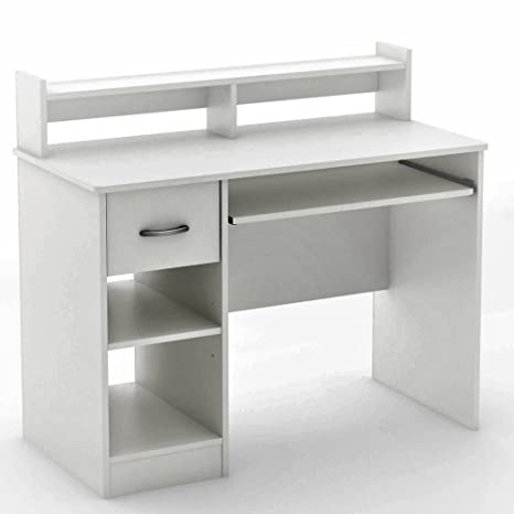 Amazon.com: Simple Modern Desk Computer Laptop PC Retro Desk ...