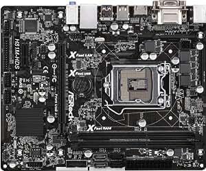 ASRock H81M-HDS - Placa base (Intel H81 Express, DDR3-SDRAM, MicroATX)