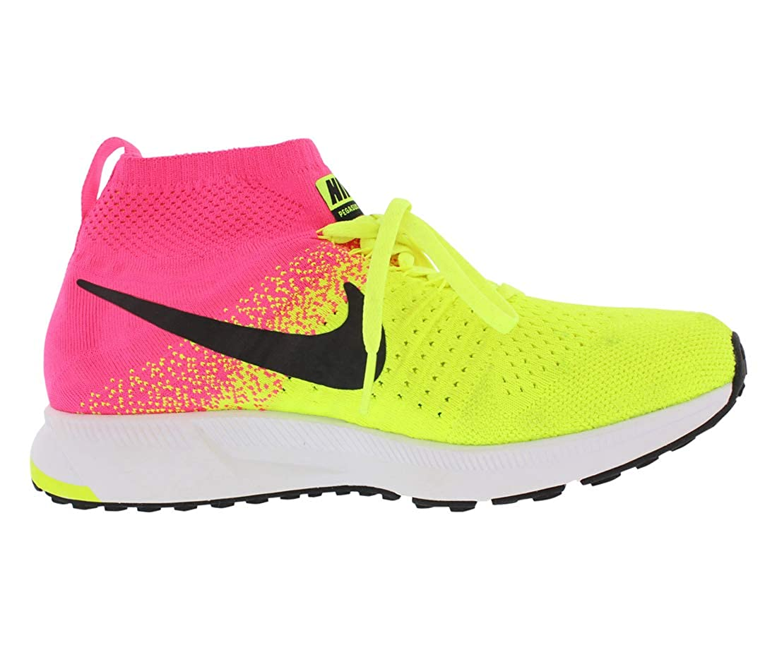 premium selection 8de6a 66291 Amazon.com   NIKE Zm Pegasus All Out Flyknit Gs Running Gradeschool Boy s  Shoes Size   Running