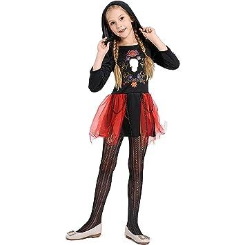 ZED- Disfraz Bruja de Halloween para Niñas Cosplay Niña ...