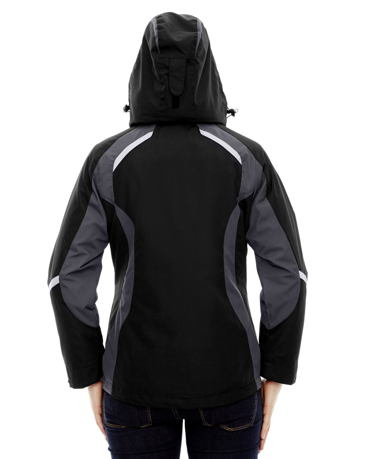 North End Height Ladies 3-In-1 Insulated Liner Jacket, Black, XXX-Large