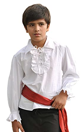 White dress shirt costume