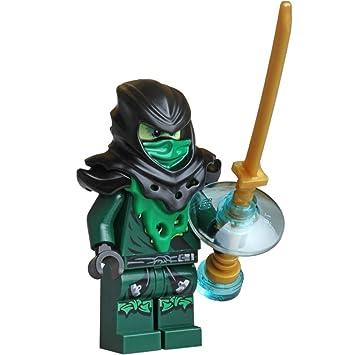 LEGO Ninjago Minifigure - Lloyd Ghost Evil Possessed with Gold ...