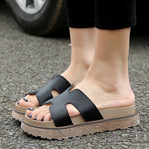 con tacón a CN35 frío A en nbsp;colores mujer para 5 verano EU36 a Mujeres Option de Zapatillas talla de Pantuflas las la viaje 2 facultative zapatos UK3 1vIqnxtwq