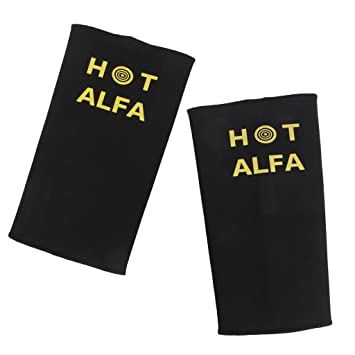 High breathable and strongly elasticity can make the skin feel comfotable. MagiDeal Black Women Lady Sauna Arm Shaper Beauty Slimmer Sleeve Wraps