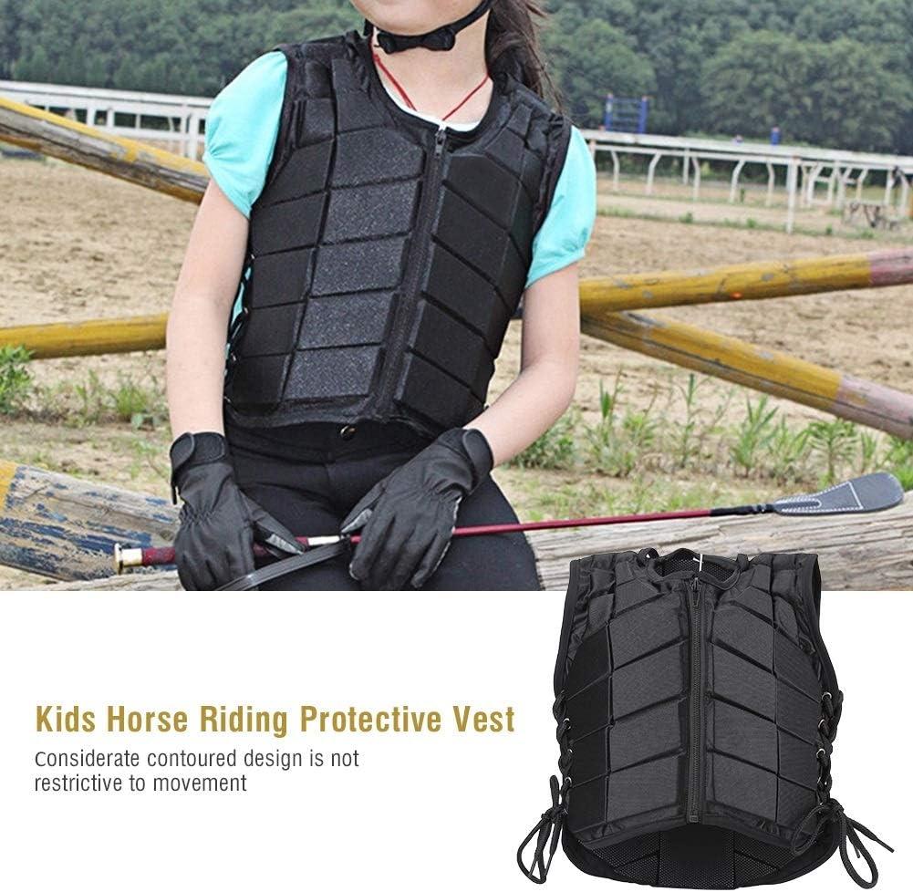 DEWIN Reiten Weste-Schutz Reiten Training Sicherheitsweste f/ür Jungen M/ädchen Kinder Kinder