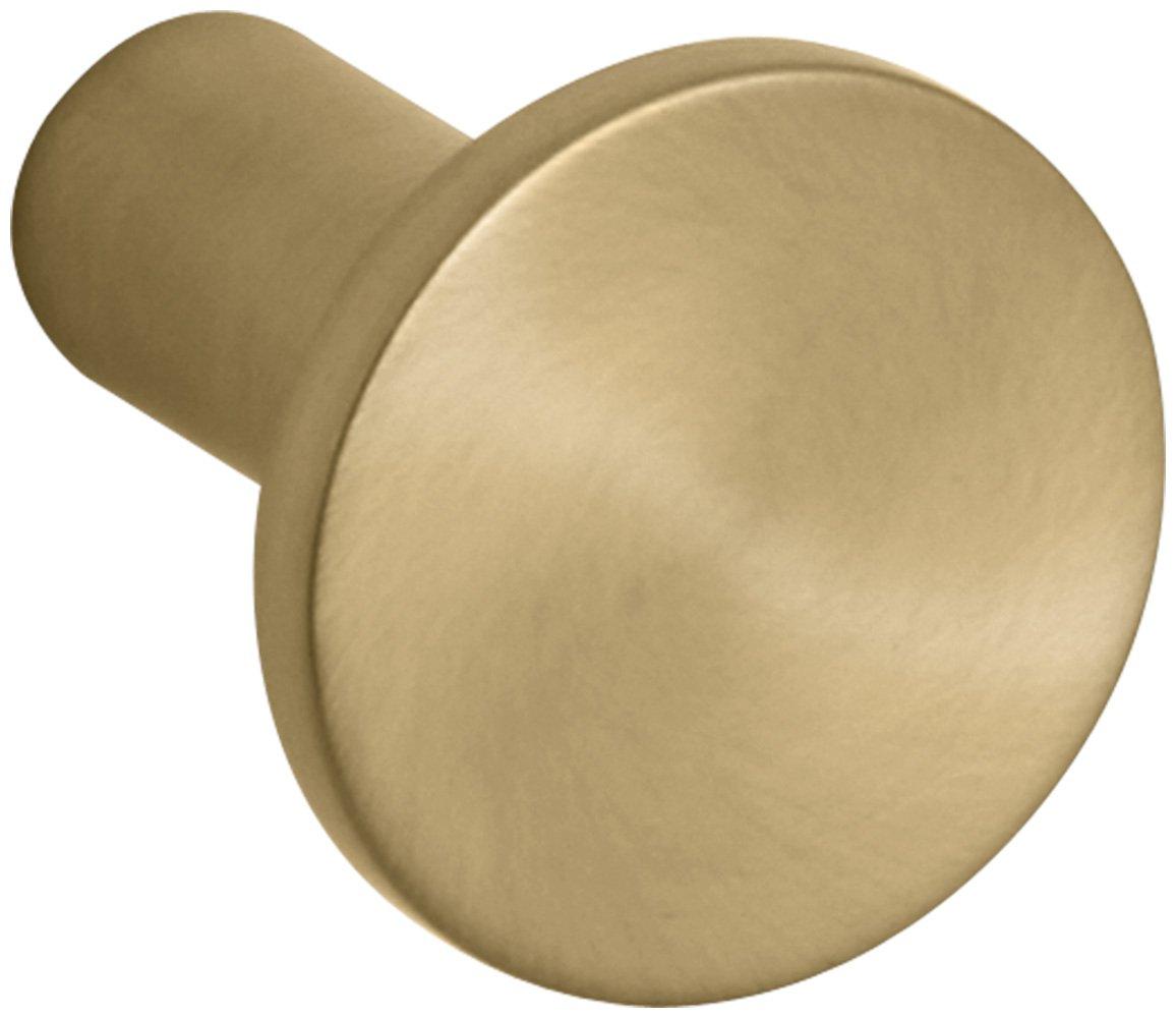 Kohler K-14484-BGD Purist/Stillness Cabinet Knob, Vibrant Moderne Brushed Gold