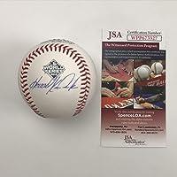 $134 » Autographed/Signed Howie Kendrick 2019 World Series Rawlings Official Major League Baseball ROML JSA COA