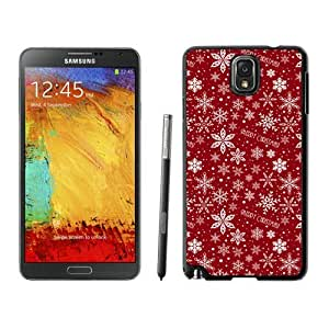 Popular Design Merry Christmas Pattern Black Samsung Galaxy Note 3 Case 1