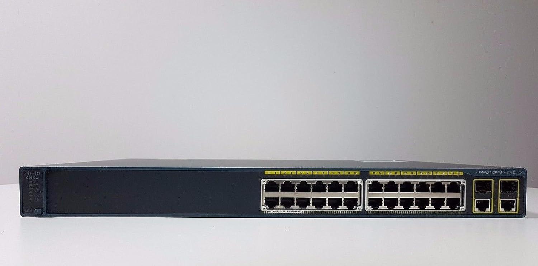 Cisco WS-C2960-24PC-L 2960 24-PORT Catalyst 10//100 Switch