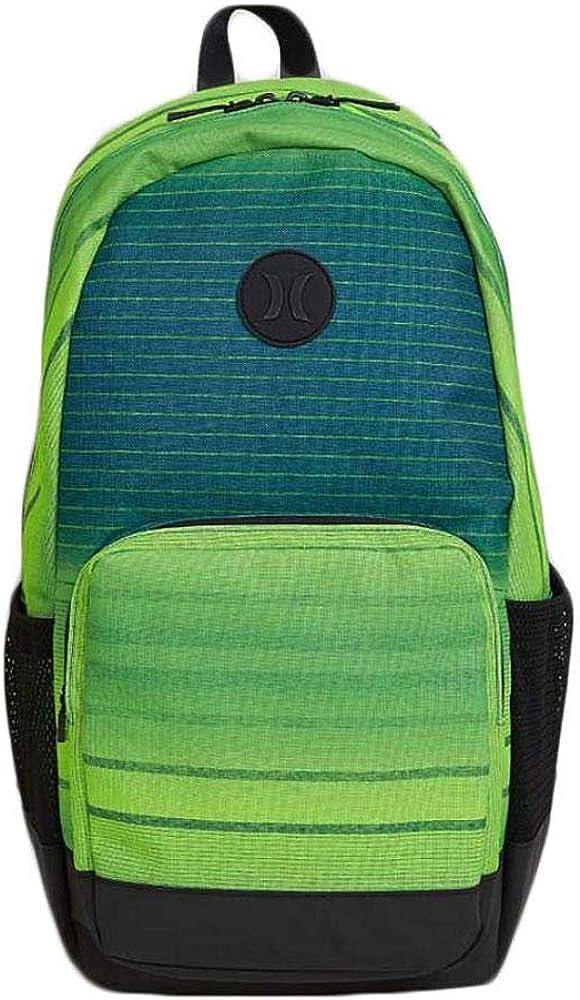 Hurley Renegade Printed Backpack, Citron Green Black
