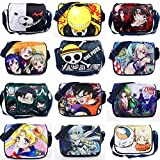 Angle Idea Japanese Cartoon One Piece Naruto Attack On Titan Etc Style Fashion Crossbody Bag School Bag Messenger Bag